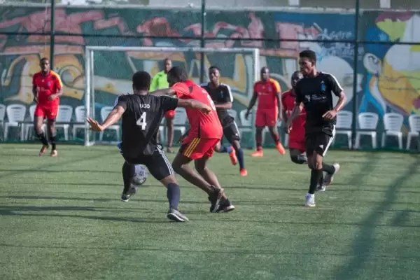 PHOTOS FROM THE HOW FOUNDATION BLUE-STATE CHARITY FOOTBALL MATCH 5