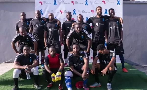 PHOTOS FROM THE HOW FOUNDATION BLUE-STATE CHARITY FOOTBALL MATCH 4