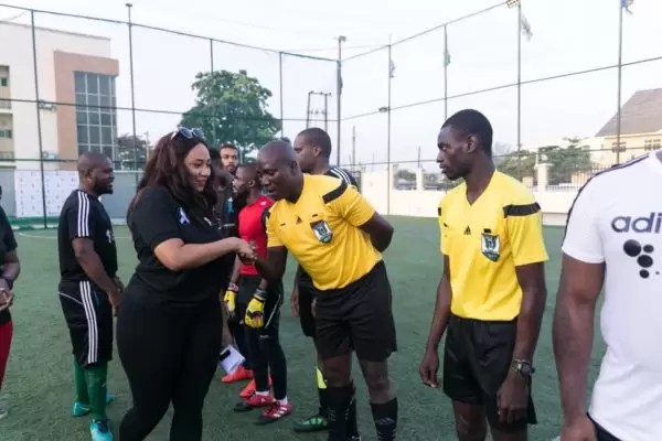 PHOTOS FROM THE HOW FOUNDATION BLUE-STATE CHARITY FOOTBALL MATCH 3