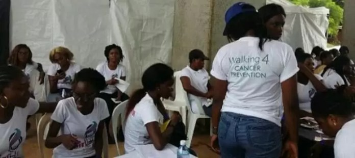 Cervical Cancer awareness. 1