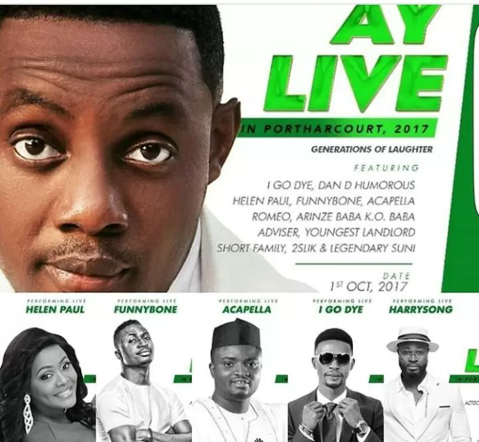 AY Live in Port Harcourt 1
