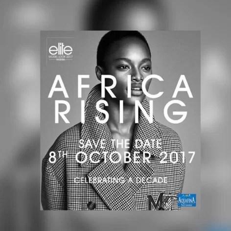 Aquafina Elite Model Look Nigeria 2017 CELEBRATING A DECADE HAUTE COUTURE: AFRICA RISING 1