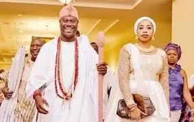 "EMNews- ""Olori Wuraola is now free"" says Ooni of Ife 1"