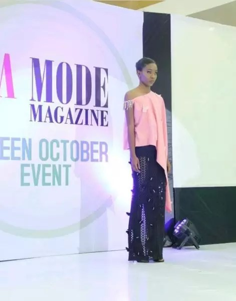 La Mode Magazine Green October event- photos from the fashion show segment 3