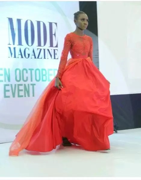 La Mode Magazine Green October event- photos from the fashion show segment 1