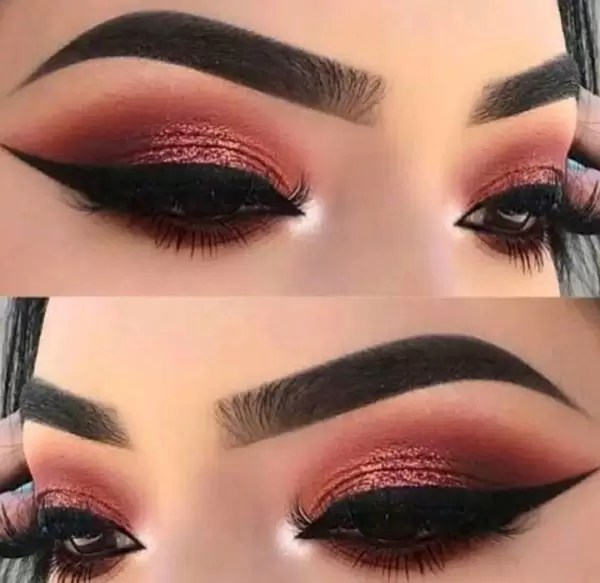 Manicure and Makeup monday- carved brows 6