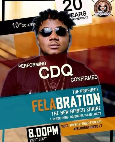 Felabration2017- Davido cancels performance 9