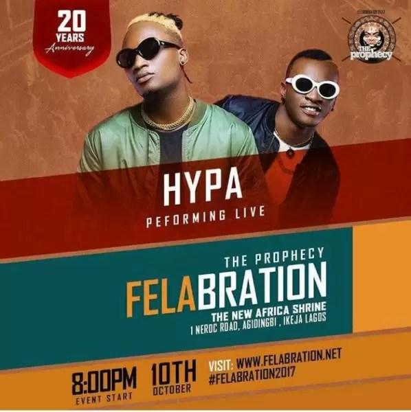 Felabration2017- Davido cancels performance 5