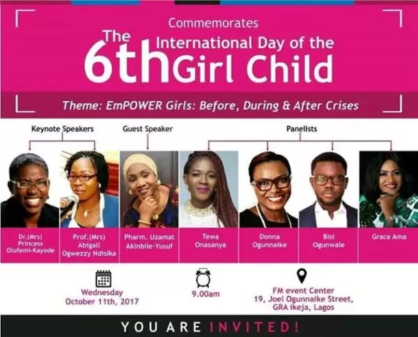 International Girl Child Day-  Empower Girls: Before, During and After Crisis 5