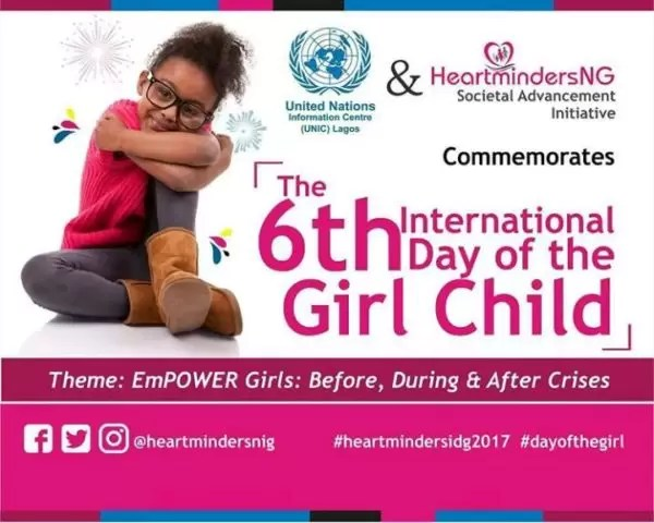 International Girl Child Day-  Empower Girls: Before, During and After Crisis 7