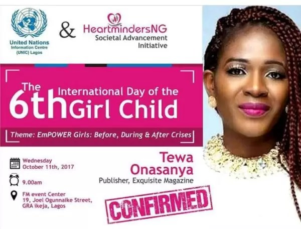 International Girl Child Day-  Empower Girls: Before, During and After Crisis 8