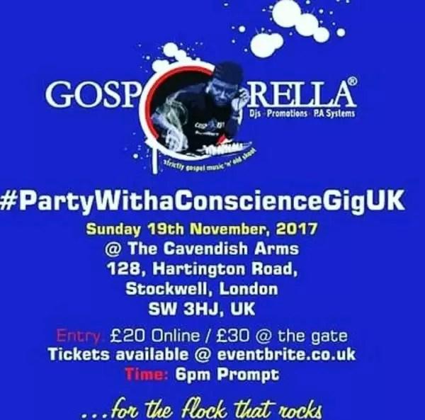 It is Dj gosporella! UK are you ready! 2