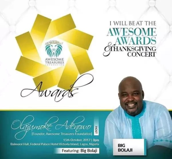 The Awesome Awards Thanksgiving concert 2