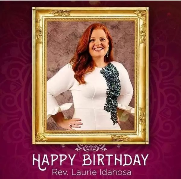 Happy birthday to you, Laurie Idahosa 1