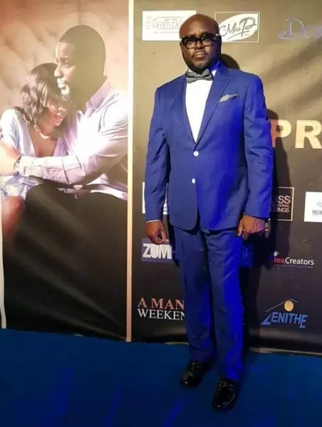 Photos of the movie premier #AManForTheWeekend in Douala 14