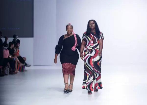 They Came to SLAY! About That Curvy Life Collective Defies Fashion Norms AGAIN at Heineken Lagos Fashion and Design Week 2017 7