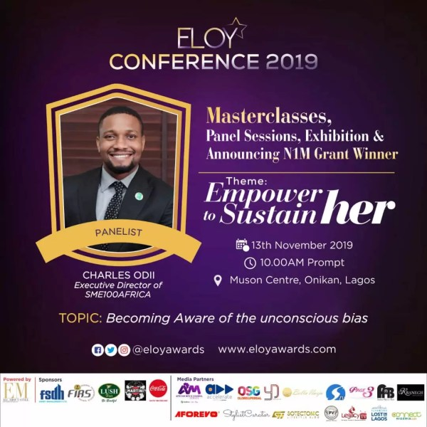 Eloy Conference 2019: Meet Panelists 2 Discussing Becoming Aware Of The Unconscious Bias. 4