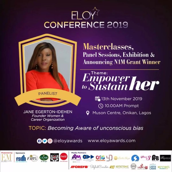 Eloy Conference 2019: Meet Panelists 2 Discussing Becoming Aware Of The Unconscious Bias. 2