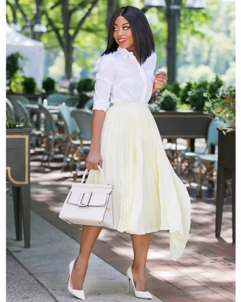 9 to 5 chic: How to Wear White Shirts From Monday to Friday 5