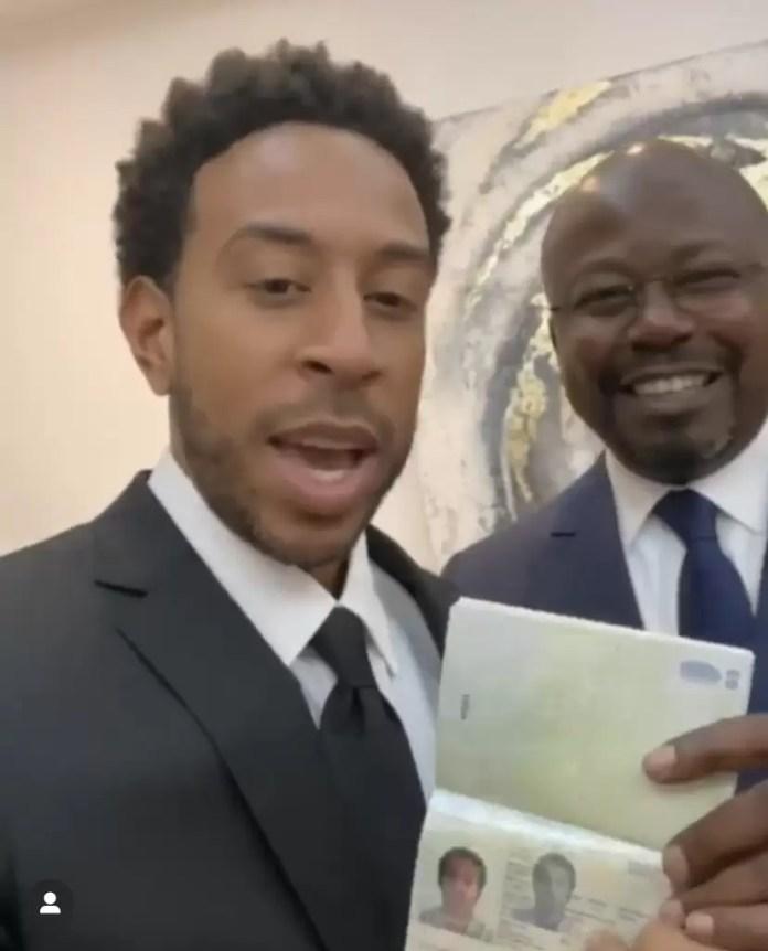Ludacris Receives First African Citizenship