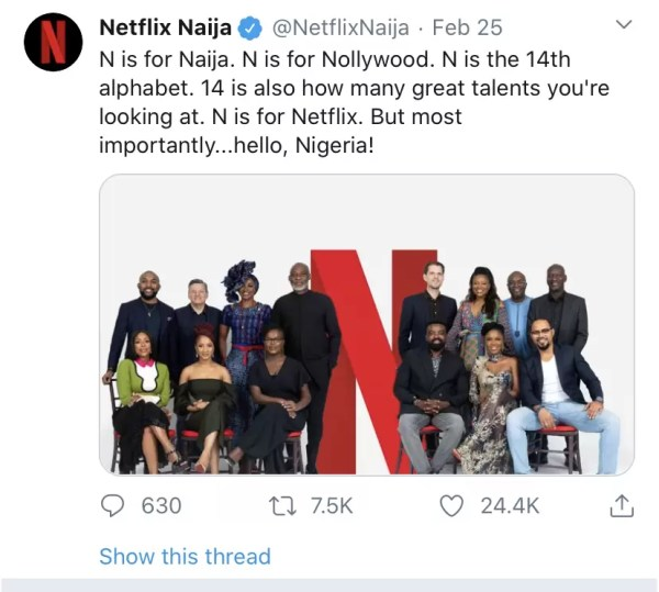 Netflix Gets Social With Nigeria