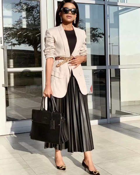 How to Rock Blazers All Week - 9 to 5 Chic 3