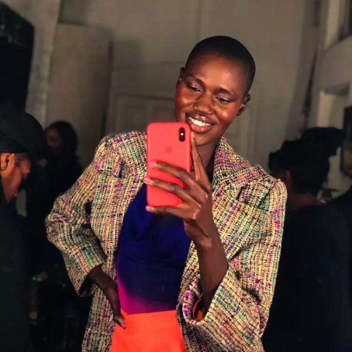 Meet The Fresh Faced South Sudanese Model Eman Deng On The Rise! 2