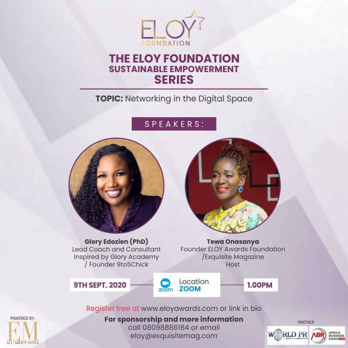 Eloy Awards Foundation 2020 Webinar Series: Day Three -Mental Awareness To Sustain You As A Business Owner Or Entrepreneur 2