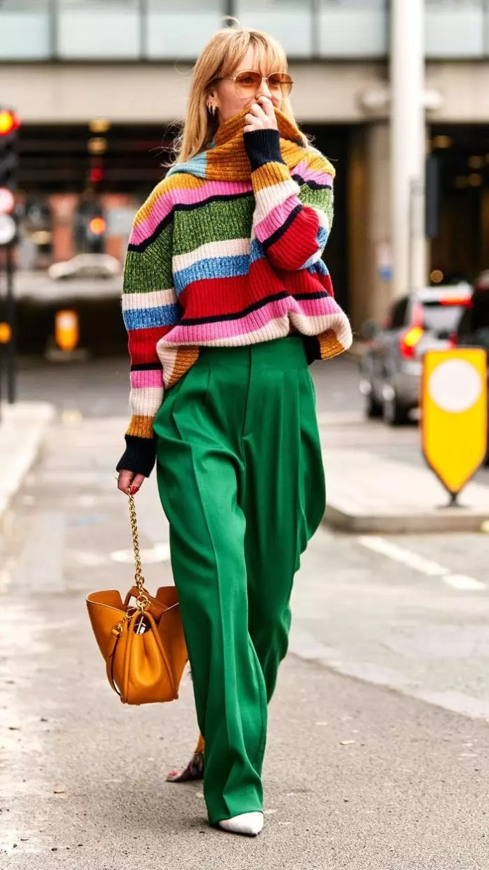 how to rock bright colours
