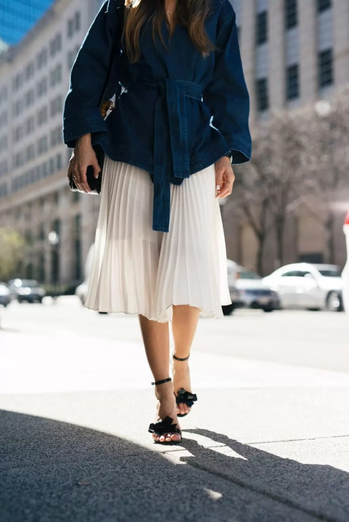 Exquisite Pleated Skirt Outfits | EM Lookbook 4