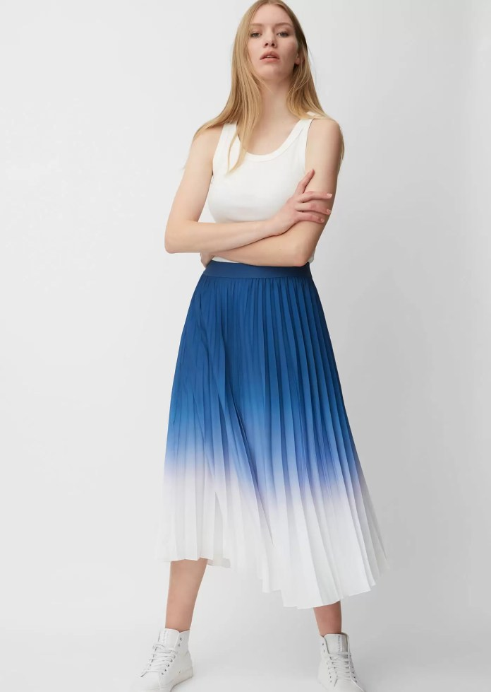 Exquisite Pleated Skirt Outfits | EM Lookbook 1