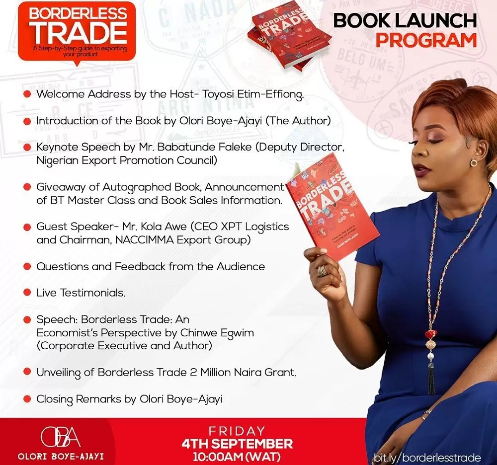 Borderless Trade Book Launch