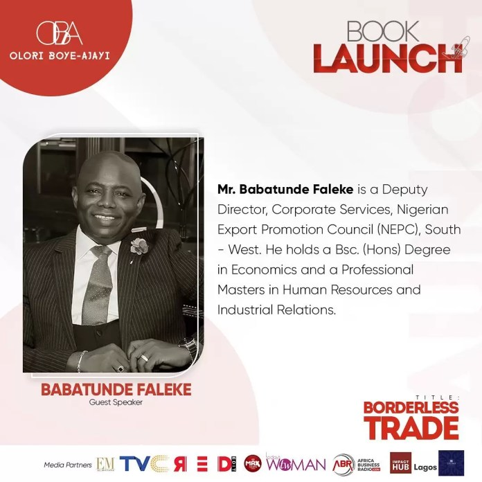 Meet the speakers For The Borderless Trade Book Launch Happening Today! 2