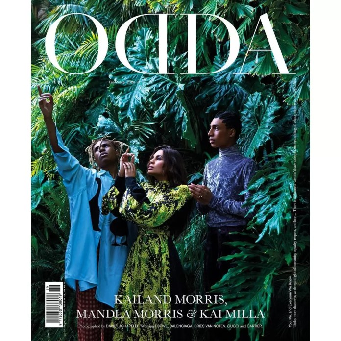 ODDA 19: Stevie Wonders and His Sons Are On The Cover Of Odda Magazine's New Issue 1