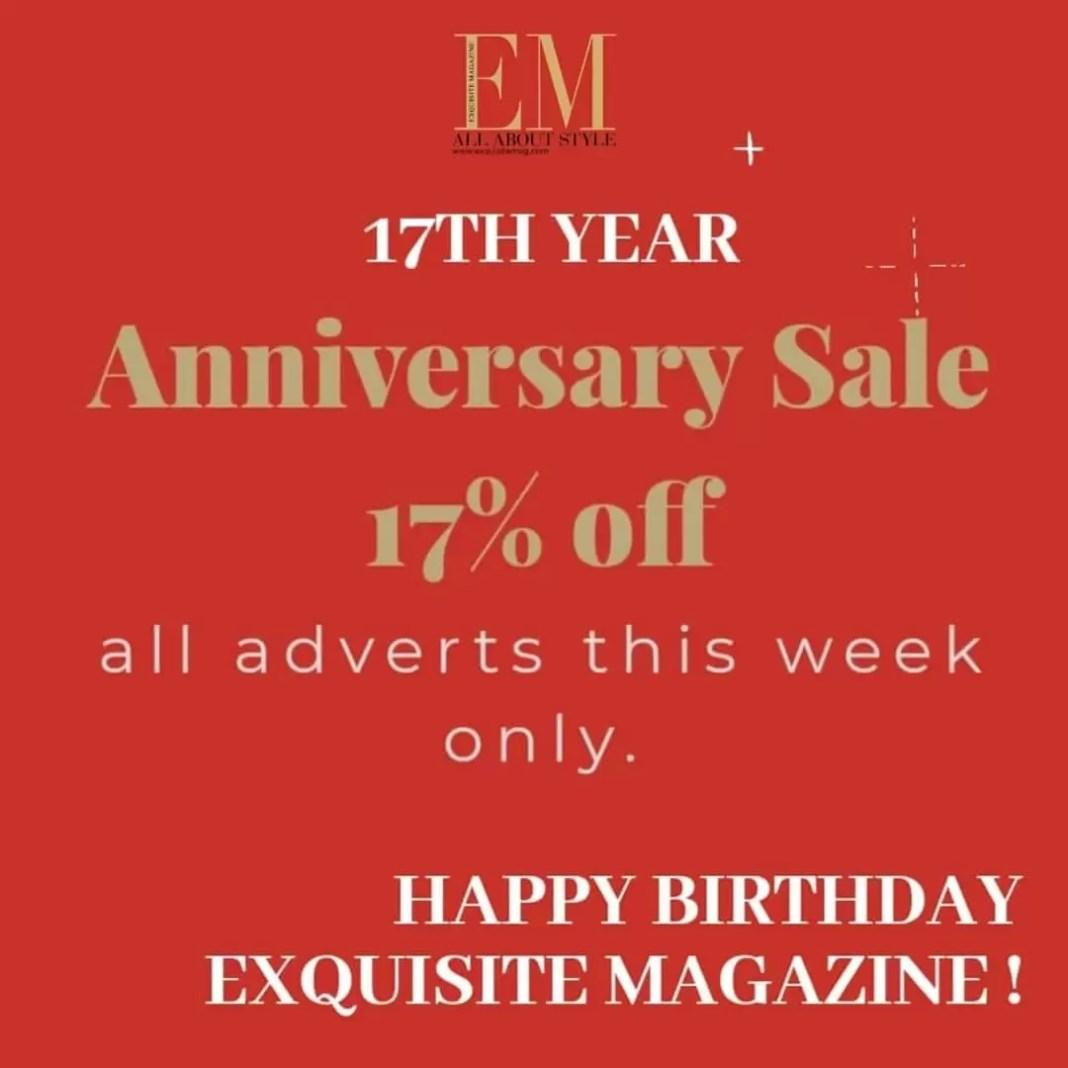 Exquisite Magazine is 17