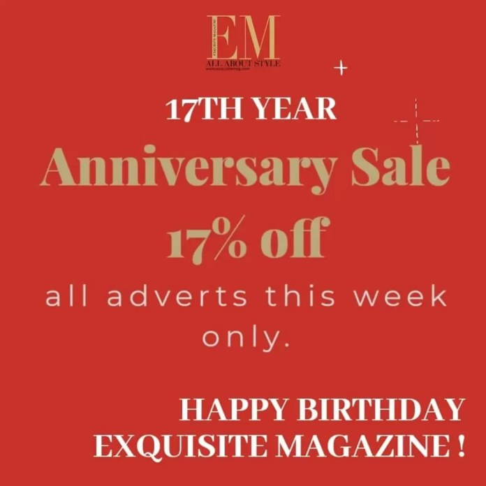 Exquisite Magazine is 17
