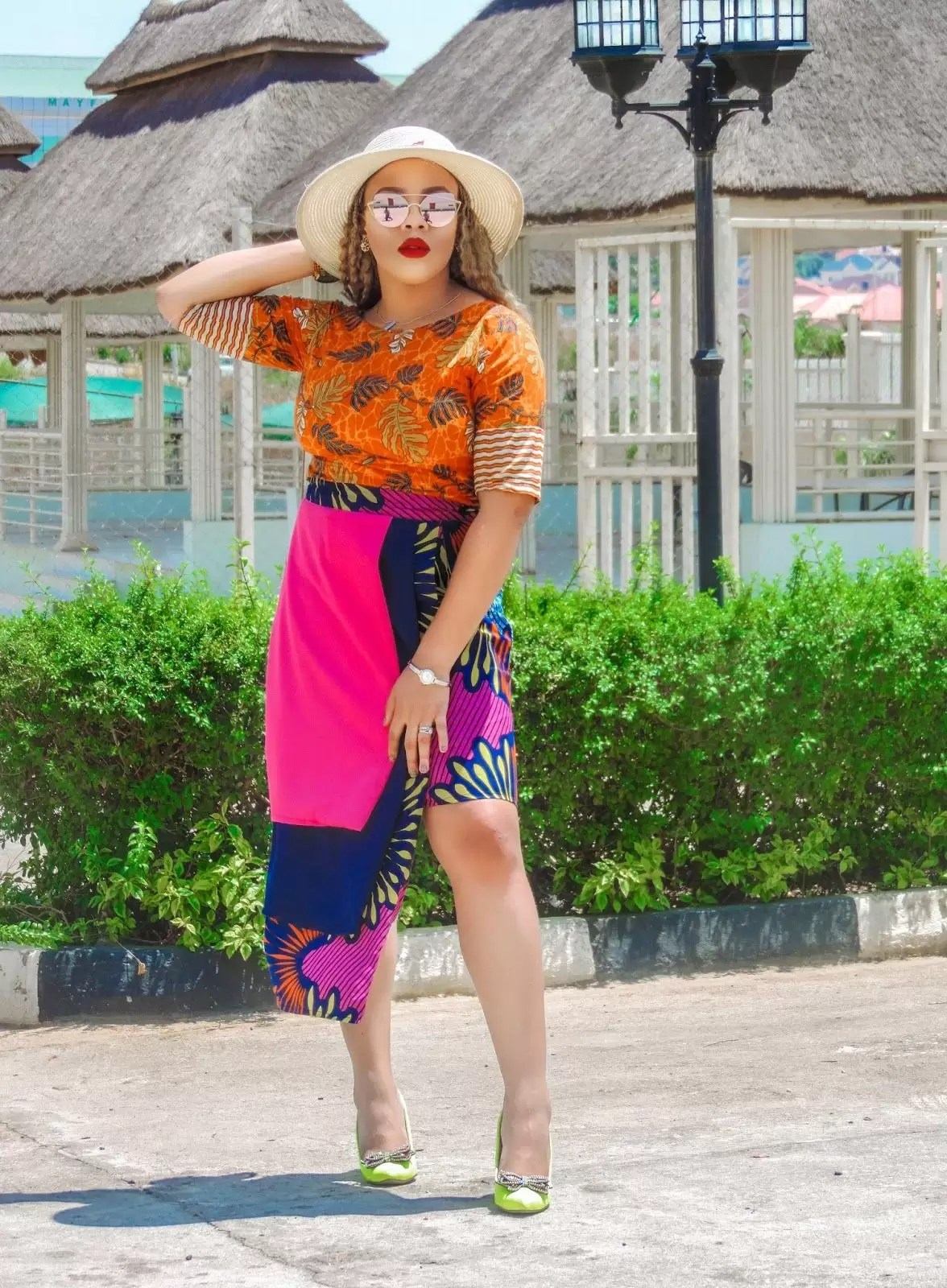 Learn How To Style Ankara Skirts In 4 Simple Ways 4