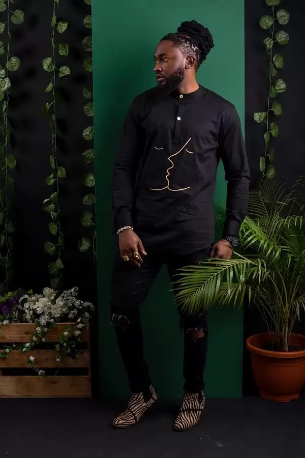 Uti Nwachukwu, Nelson Allison features in FreshbyDotun Latest Shirt Collection | EM Lookbook 9