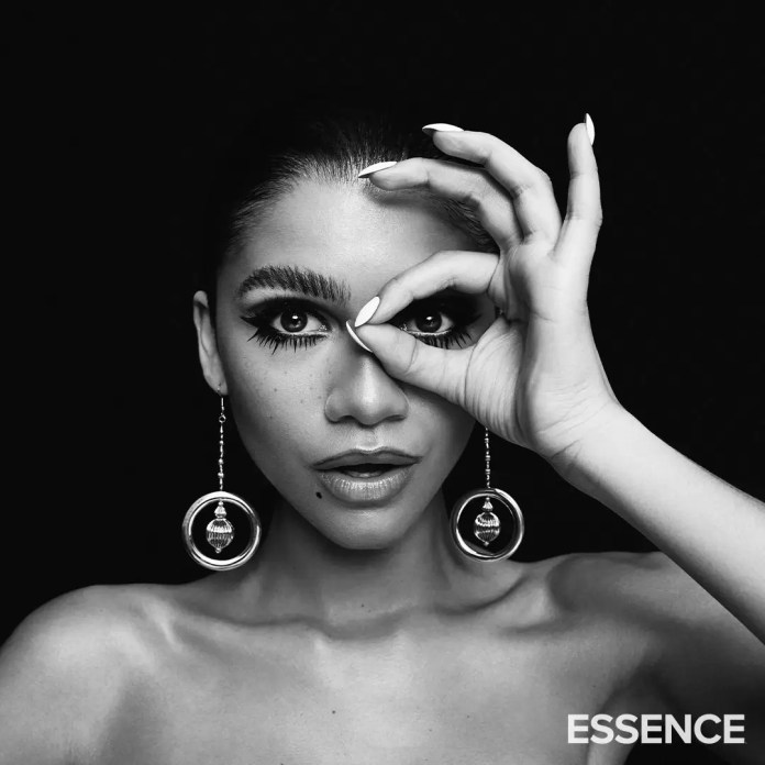 Zendaya Pays Homage To Donyale Luna As The Cover Girl For Essence Magazine's 50th Anniversary Closing Issue 5