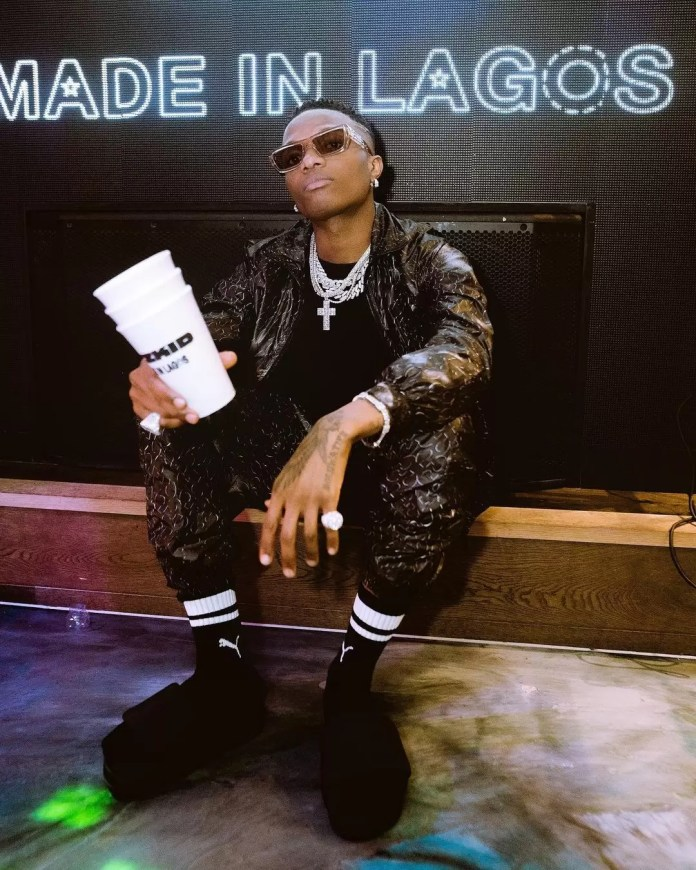 Don't Miss These Pics From Wizkid's Album Listening Party In London 4