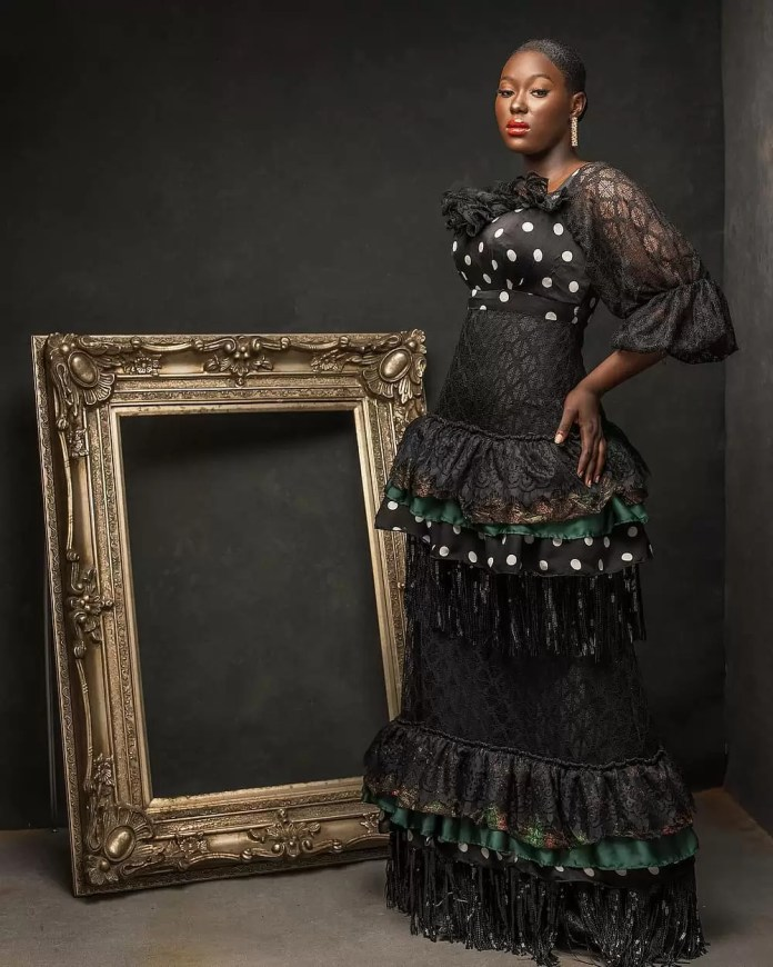 Constance Walter Has Christmas In Mind With Its 'Romantic Noire Collection' Featuring Shaffy Bello 18