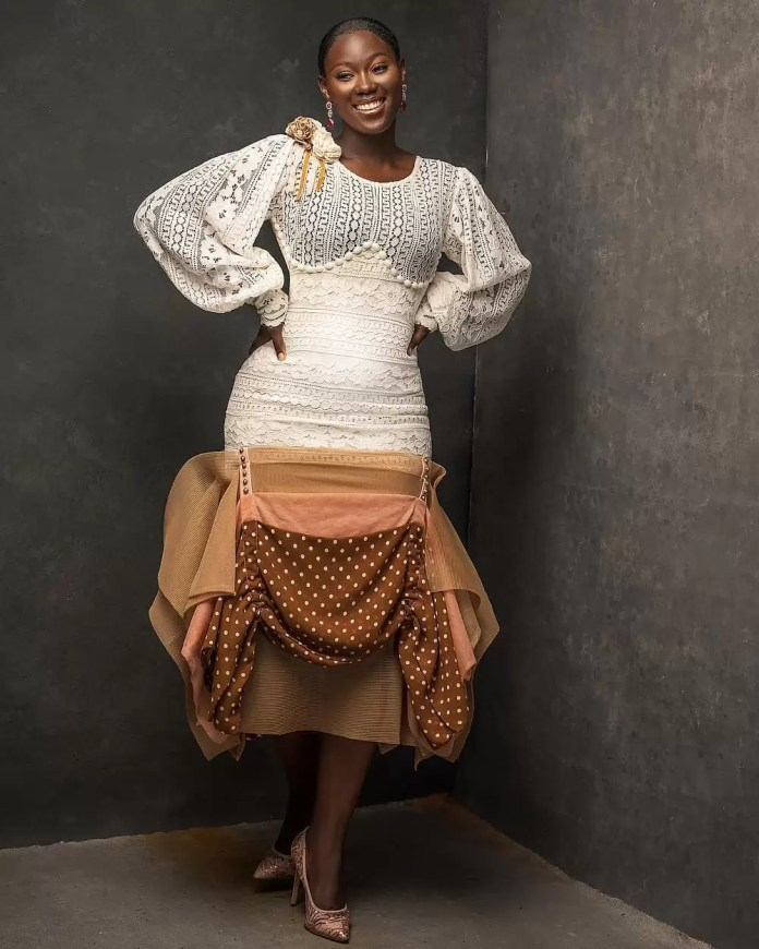 Constance Walter Has Christmas In Mind With Its 'Romantic Noire Collection' Featuring Shaffy Bello 9