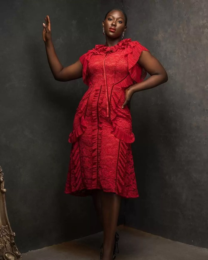 Constance Walter Has Christmas In Mind With Its 'Romantic Noire Collection' Featuring Shaffy Bello 1