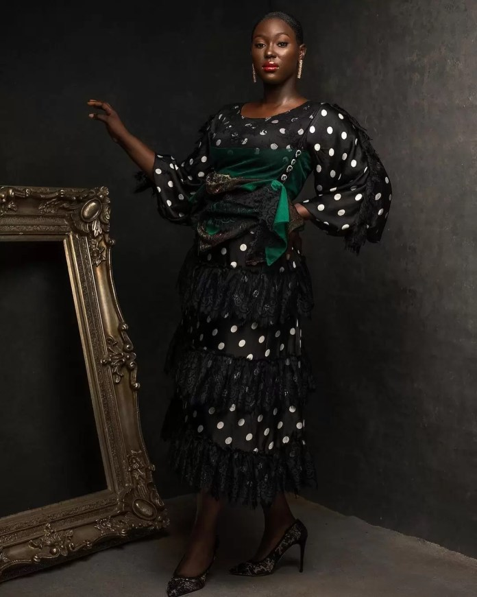 Constance Walter Has Christmas In Mind With Its 'Romantic Noire Collection' Featuring Shaffy Bello 14