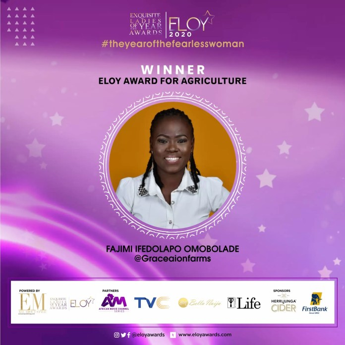 Tolu Bally, Toke Makinwa and More Emerge As The ELOY Awards 2020 Winners 2