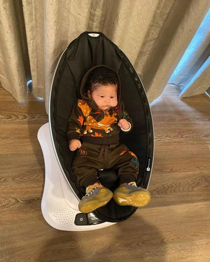 Nicki Minaj Posts Adorable Pictures Of Her Son To Wish Fans A Happy New Year | Nicki Minaj's Son 4