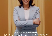 Kamala Harris Vogue Cover
