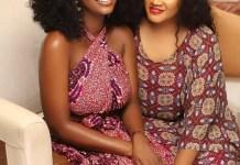 Omotola Jalade-Ekeinde And her Daughter, Meraiah