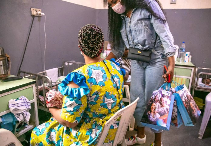 Idia Aisien's NGO Supports Undeprivileged Patients at Massey Children's Hospital