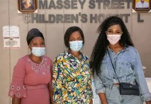 Idia Aisien's NGO Supports Undeprivileged Patients at Massey Children's Hospital/Idia Aisien at Massey hospital